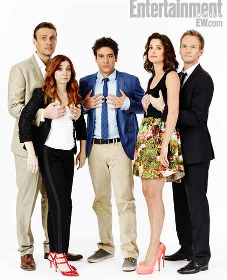 Cast of 'How I Met Your Mother' at Comic Con 2013