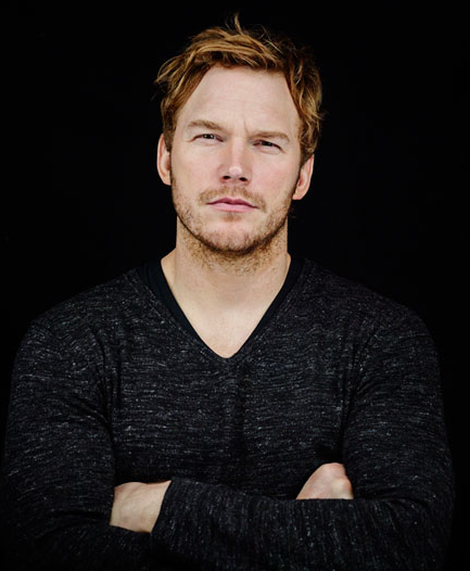 Chris Pratt at Comic Con 2013