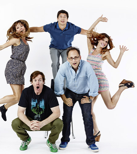 "Cast of ""Children's Hospital"" at Comic Con 2013"