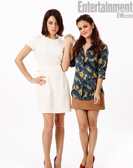 "Aubrey  Plaza and Rachel Bilson from ""The To-Do List"""