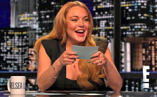 Lindsay Lohan guest hosts 'Chelsea Lately'
